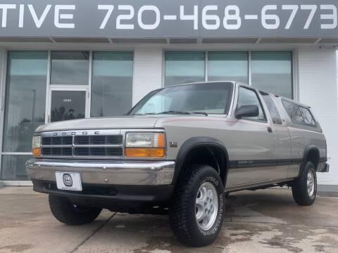 1995 Dodge Dakota for sale at Shift Automotive in Denver CO