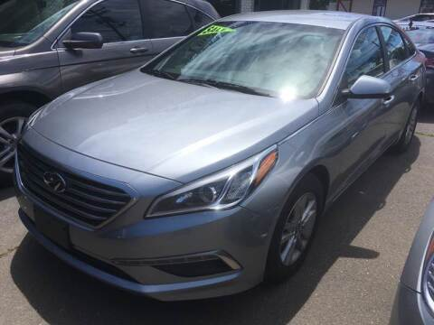 2015 Hyundai Sonata for sale at MELILLO MOTORS INC in North Haven CT