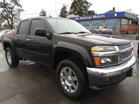 2012 Chevrolet Colorado for sale at All American Motors in Tacoma WA