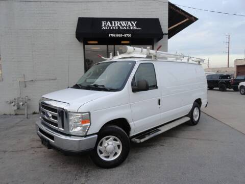 2014 Ford E-Series Cargo for sale at FAIRWAY AUTO SALES, INC. in Melrose Park IL