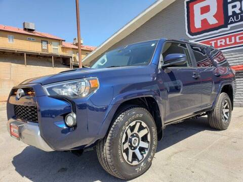 2018 Toyota 4Runner for sale at Red Rock Auto Sales in Saint George UT