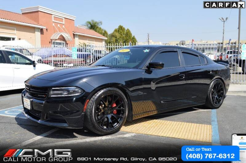 2017 Dodge Charger for sale at Cali Motor Group in Gilroy CA