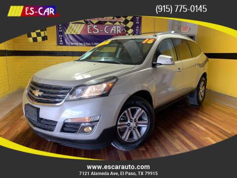 2016 Chevrolet Traverse for sale at Escar Auto - 9809 Montana Ave Lot in El Paso TX