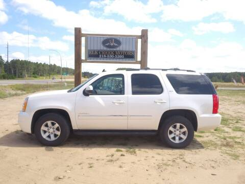 2012 GMC Yukon for sale at Elk Creek Motors LLC in Park Rapids MN