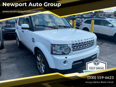 2013 Land Rover LR4 for sale at Newport Auto Group in Austintown OH