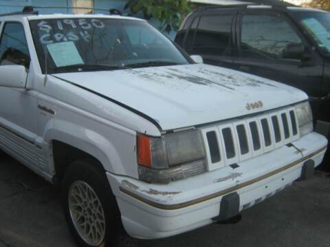 1994 Jeep Grand Cherokee for sale at Ody's Autos in Houston TX