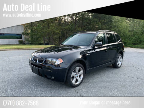 2006 BMW X3 for sale at Auto Deal Line in Alpharetta GA