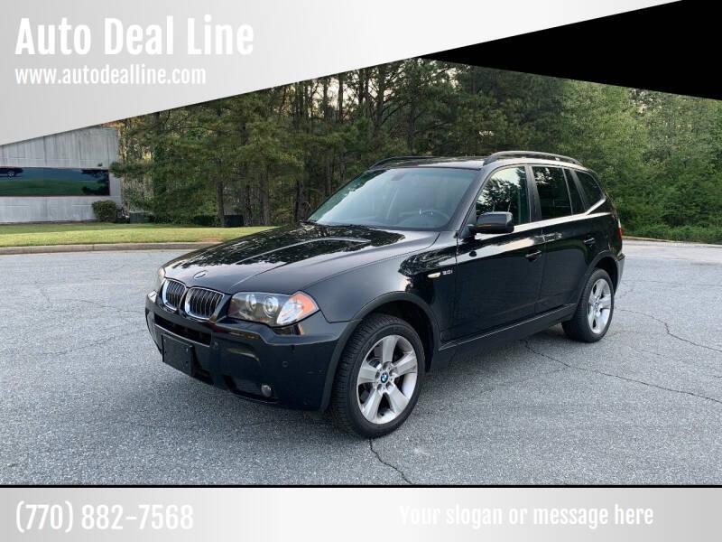 2006 BMW X3 for sale at Auto Deal Line in Alpharetta GA