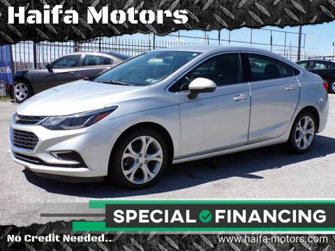 2017 Chevrolet Cruze for sale at Haifa Motors in Philadelphia PA