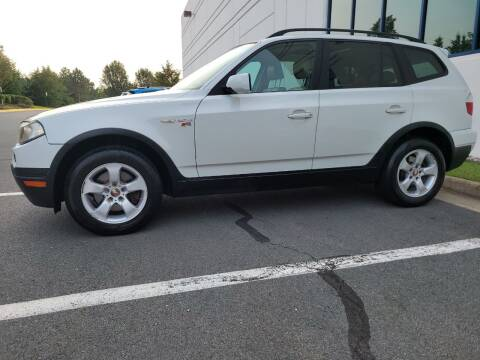 2007 BMW X3 for sale at Dulles Motorsports in Dulles VA