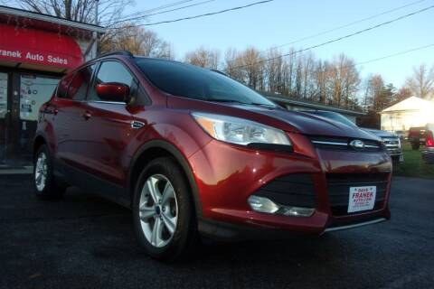 2014 Ford Escape for sale at Dave Franek Automotive in Wantage NJ