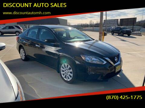2017 Nissan Sentra for sale at DISCOUNT AUTO SALES in Mountain Home AR