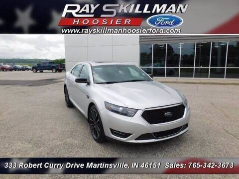 2018 Ford Taurus for sale at Ray Skillman Hoosier Ford in Martinsville IN