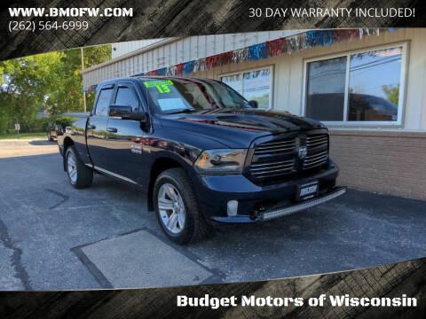 2013 RAM Ram Pickup 1500 for sale at Budget Motors of Wisconsin in Racine WI