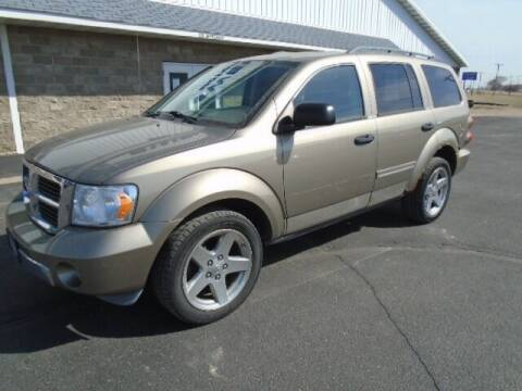 2007 Dodge Durango for sale at SWENSON MOTORS in Gaylord MN