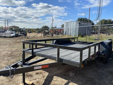 """2020 P & C  - UTILITY 77"""" X 14' - IN for sale at LJD Sales in Lampasas TX"""
