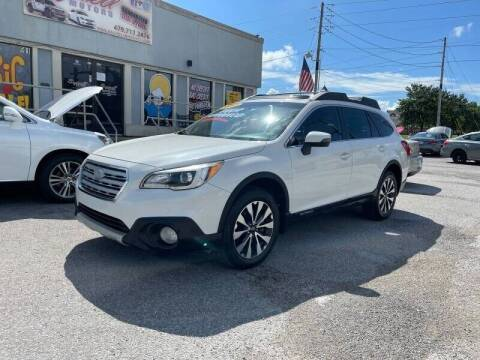 2015 Subaru Outback for sale at Bagwell Motors in Lowell AR