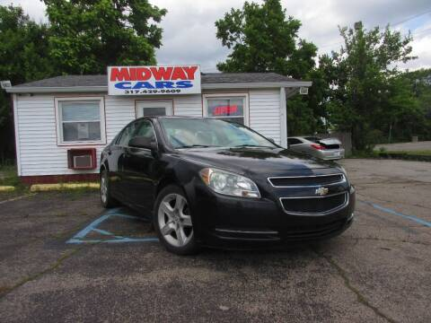 2009 Chevrolet Malibu for sale at Midway Cars LLC in Indianapolis IN