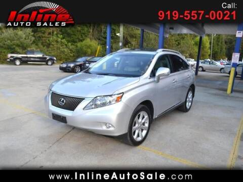 2012 Lexus RX 350 for sale at Inline Auto Sales in Fuquay Varina NC