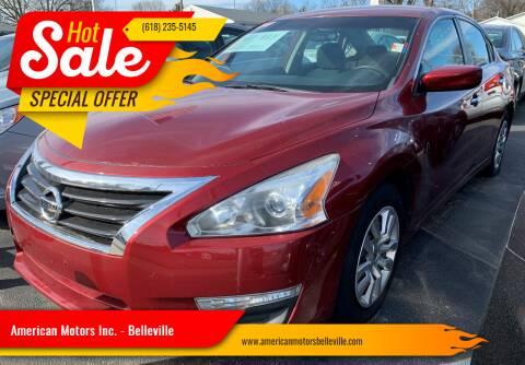 2014 Nissan Altima for sale at American Motors Inc. - Belleville in Belleville IL