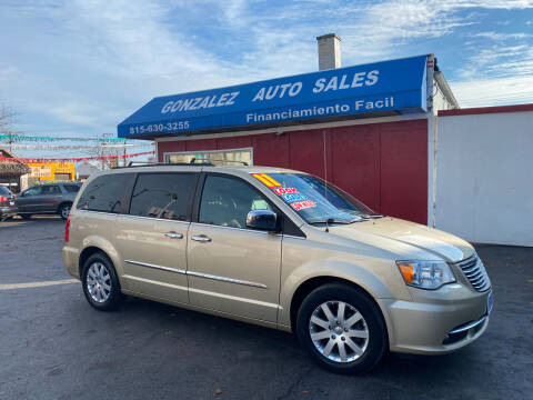 2011 Chrysler Town and Country for sale at Gonzalez Auto Sales in Joliet IL