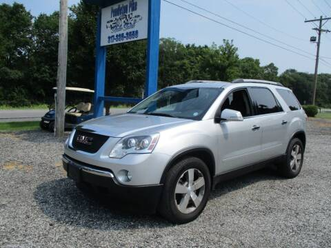2012 GMC Acadia for sale at PENDLETON PIKE AUTO SALES in Ingalls IN
