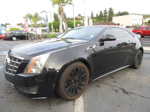 2013 Cadillac CTS for sale at Eagle Auto in La Mesa CA