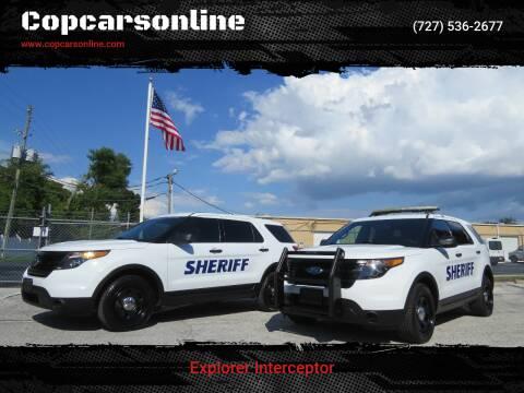 2015 Ford Explorer for sale at Copcarsonline in Largo FL