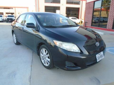 2009 Toyota Corolla for sale at Premier Foreign Domestic Cars in Houston TX