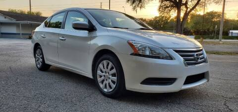 2013 Nissan Sentra for sale at Royal Auto Mart in Tampa FL