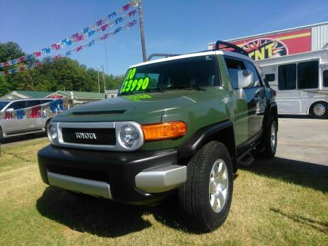 2010 Toyota FJ Cruiser for sale at AUTOPLEX 528 LLC in Huntsville AL