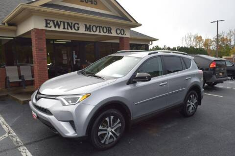 2018 Toyota RAV4 for sale at Ewing Motor Company in Buford GA
