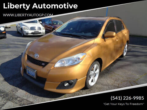 2009 Toyota Matrix for sale at Liberty Automotive in Grants Pass OR