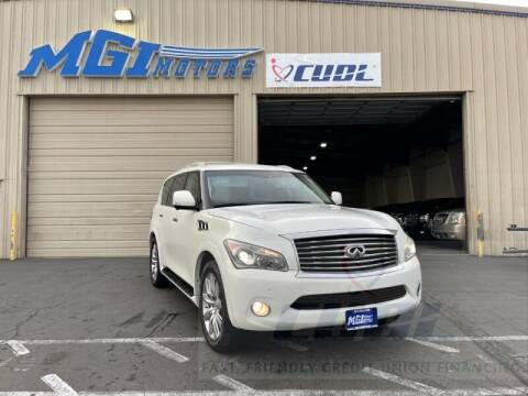 2011 Infiniti QX56 for sale at MGI Motors in Sacramento CA