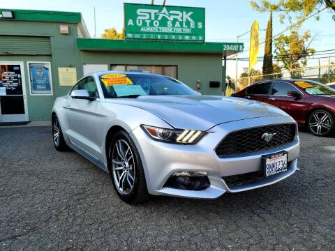 2017 Ford Mustang for sale at Stark Auto Sales in Modesto CA