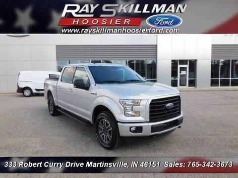 2017 Ford F-150 for sale at Ray Skillman Hoosier Ford in Martinsville IN