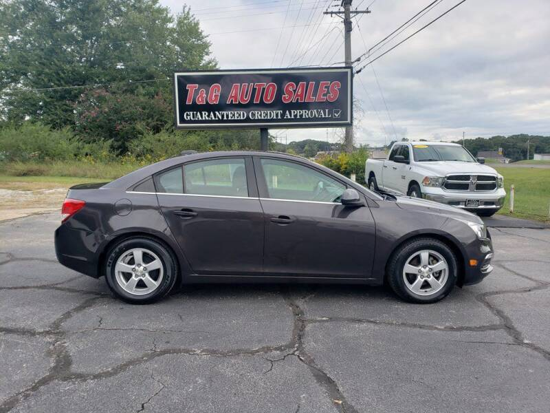 2016 Chevrolet Cruze Limited for sale at T & G Auto Sales in Florence AL