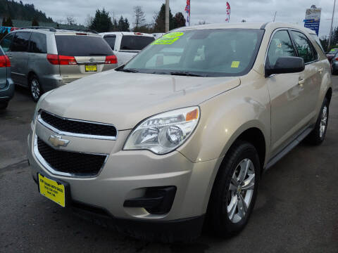 2012 Chevrolet Equinox for sale at KENT GRAND AUTO SALES LLC in Kent WA