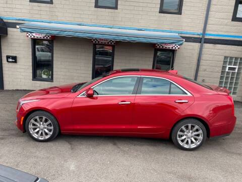 2018 Cadillac ATS for sale at Sisson Pre-Owned in Uniontown PA