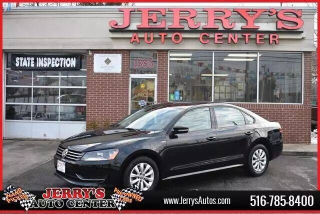 2015 Volkswagen Passat for sale at JERRY'S AUTO CENTER in Bellmore NY