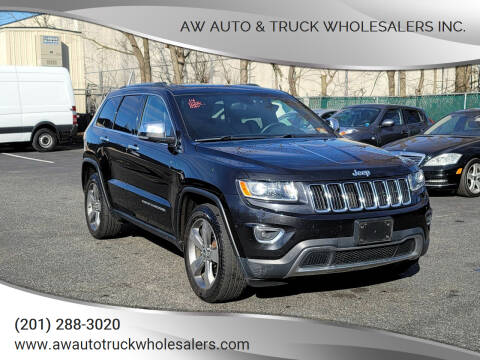 2014 Jeep Grand Cherokee for sale at AW Auto & Truck Wholesalers  Inc. in Hasbrouck Heights NJ