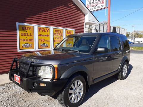2005 Land Rover LR3 for sale at Mack's Autoworld in Toledo OH