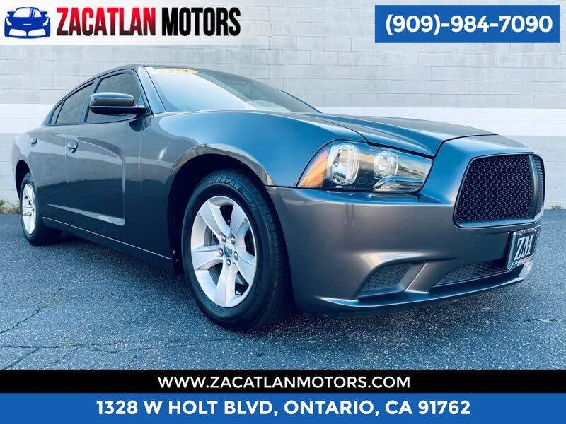 2014 Dodge Charger for sale at Ontario Auto Square in Ontario CA