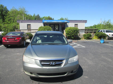 2008 Hyundai Sonata for sale at Olde Mill Motors in Angier NC