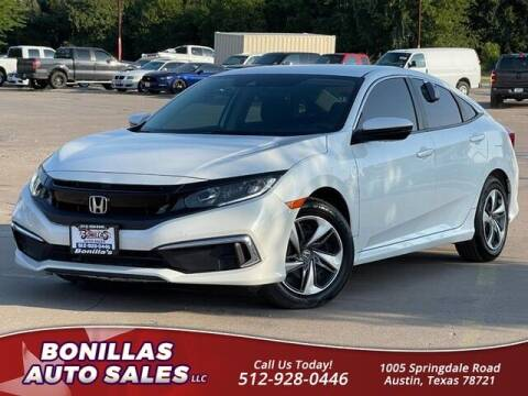 2020 Honda Civic for sale at Bonillas Auto Sales in Austin TX