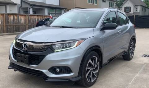2019 Honda HR-V for sale at Rons Auto Sales in Stockdale TX
