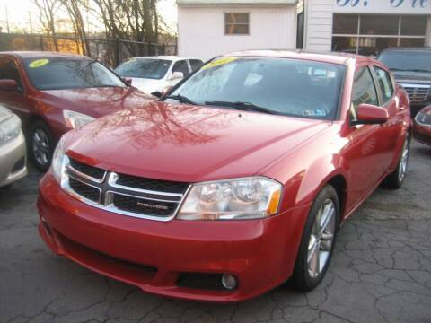 2011 Dodge Avenger for sale at B. Fields Motors, INC in Pittsburgh PA