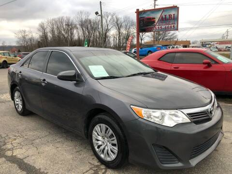 2014 Toyota Camry for sale at Albi Auto Sales LLC in Louisville KY