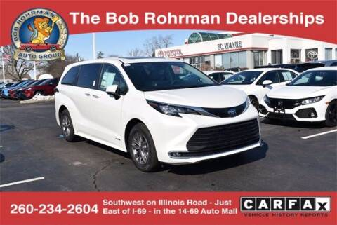 2021 Toyota Sienna for sale at BOB ROHRMAN FORT WAYNE TOYOTA in Fort Wayne IN