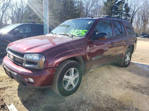 2004 Chevrolet TrailBlazer for sale at Northwoods Auto & Truck Sales in Machesney Park IL